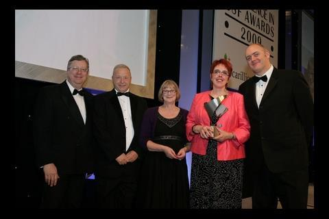 Beaumont Leys team at the Excellence in BSF Awards 2009